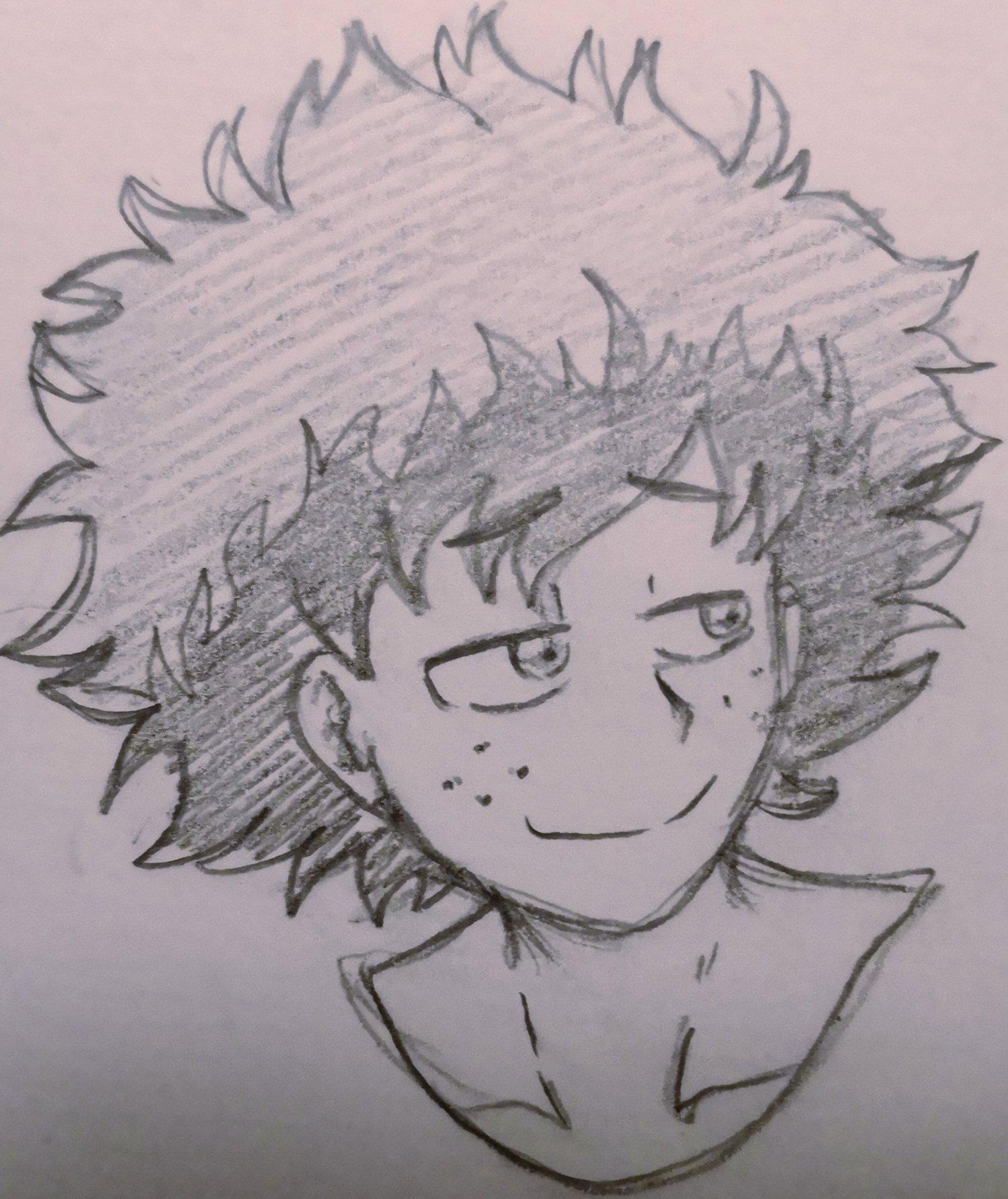 Izuku Midoriya Skizze